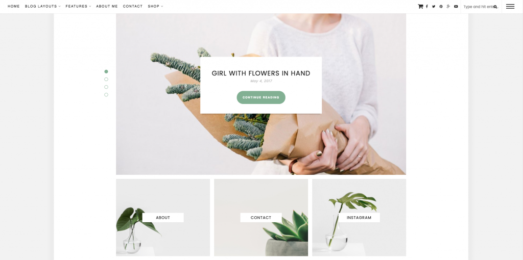 Theme WordPress Monica pour le blog FouettMagic